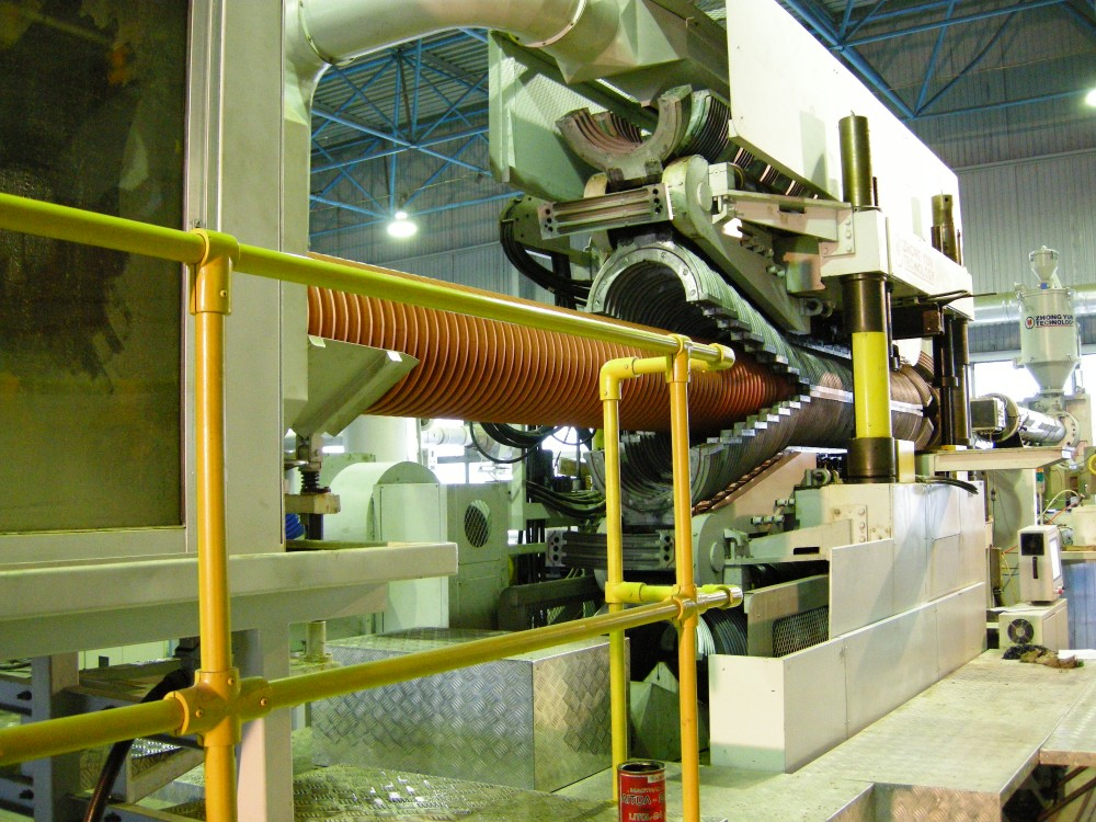 Картинки по запросу установка по производству гофрированные полипропиленовые трубы