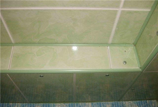 Как сделать углы в ванной из пластиковых  370