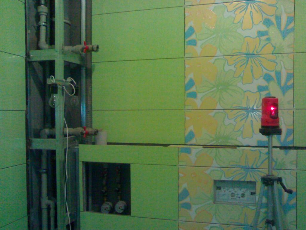 Короб в ванной для труб закрыть своими руками 899