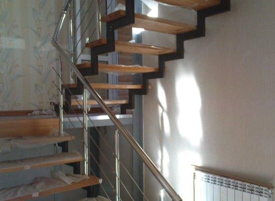 Лестница на второй этаж своими руками из профильной трубы своими руками