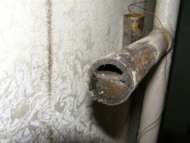 Стояк холодного водоснабжения забит что делать