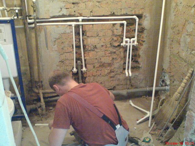 Как сделать водопровод в квартире своими руками