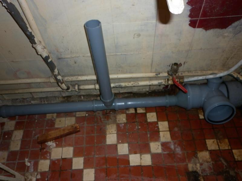 Подключение канализации в ванной своими руками